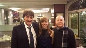 Avec Philippe Grison et Wolfgang Doerner