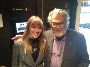 With the great Leon Fleisher