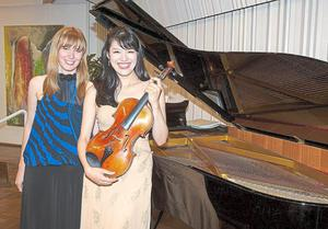 After one of our concert from our Germany tour with violist Mariko Hara