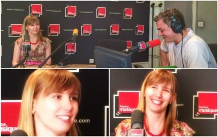 Suzana Bartal sur France Musique 08.16
