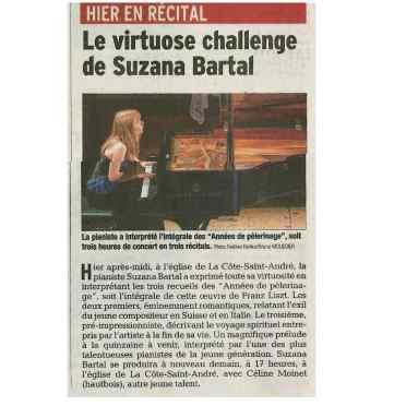 Critique Le Dauphiné Libéré 20.08.18