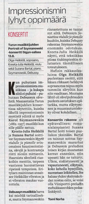 Critique Turku