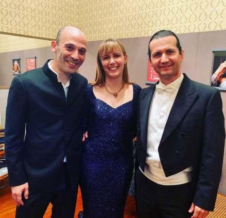 Avec Ariel Zuckermann et Norberto Gomez 2020